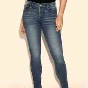 NWT Express Skinny Mid Rise Stretch Jeans 18R new
